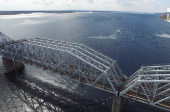 Сызранский мост через Волгу