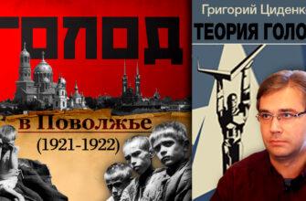 Голод в Поволжье 1921-1922 Теория голода