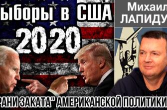 Выборы в США 2020 Михаил Лапидус