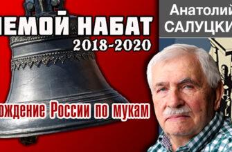 Анатолий Салуцкий. Немой набат. 2018-2020. Хождение России по мукам